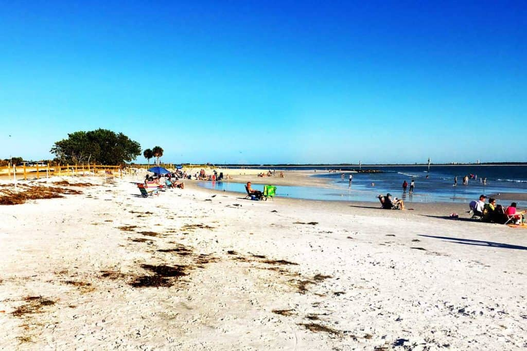 Beaches of Honeymoon island