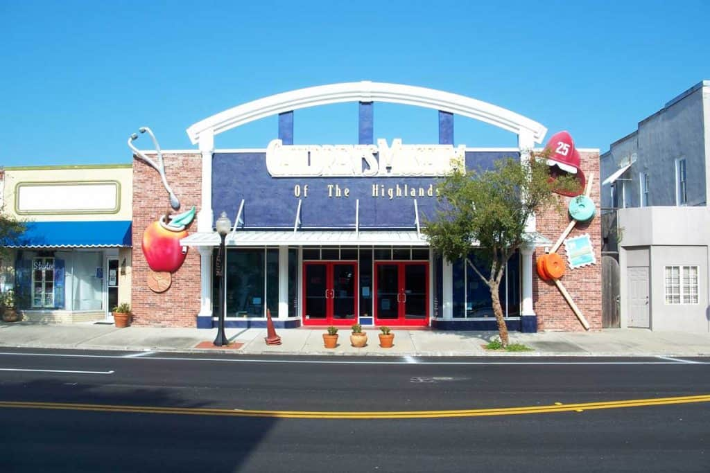 Children's Museum building of Sebring, Florida