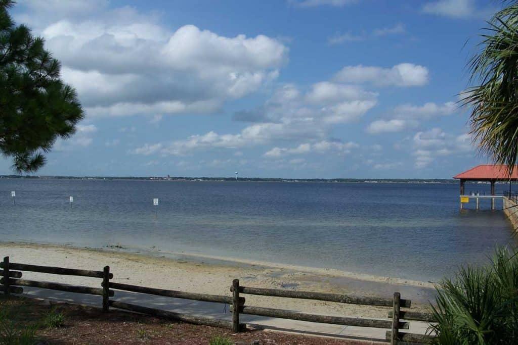 Fantastic view of Lake Jackson, Florida
