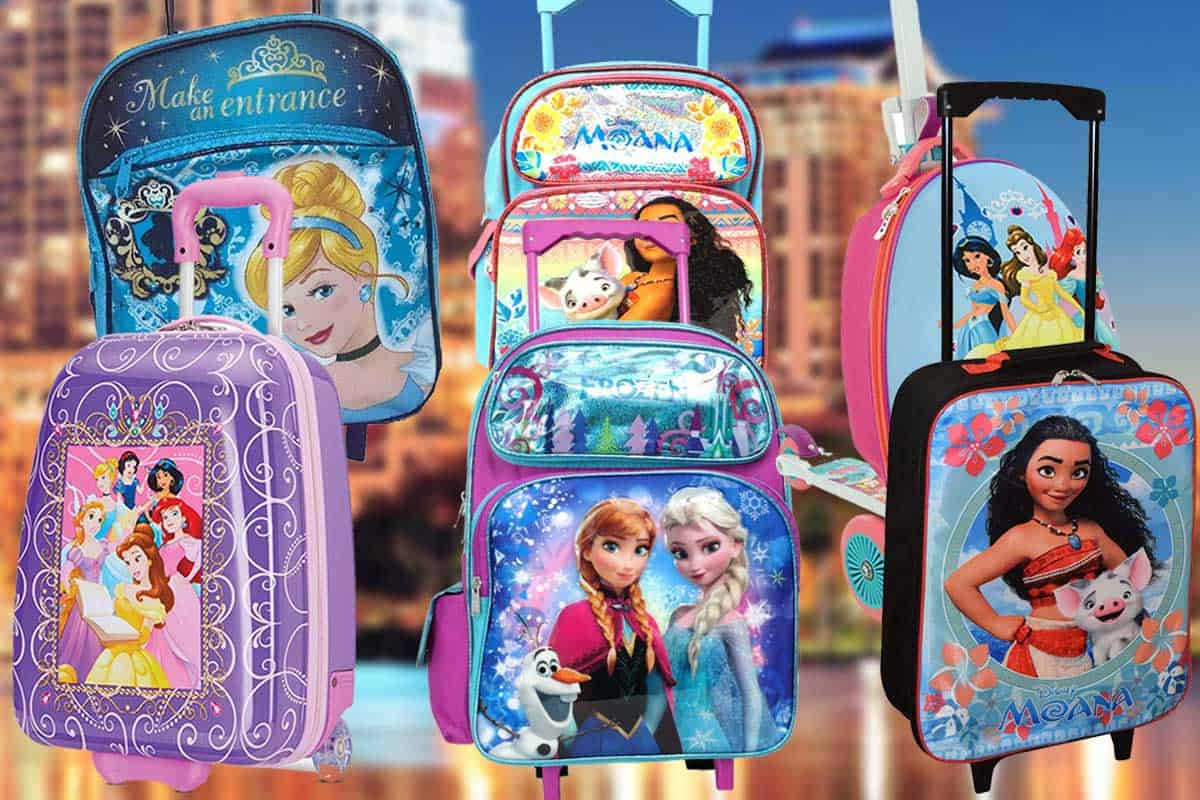 Read more about the article 10 Disney Princess Suitcases for Traveling Kids
