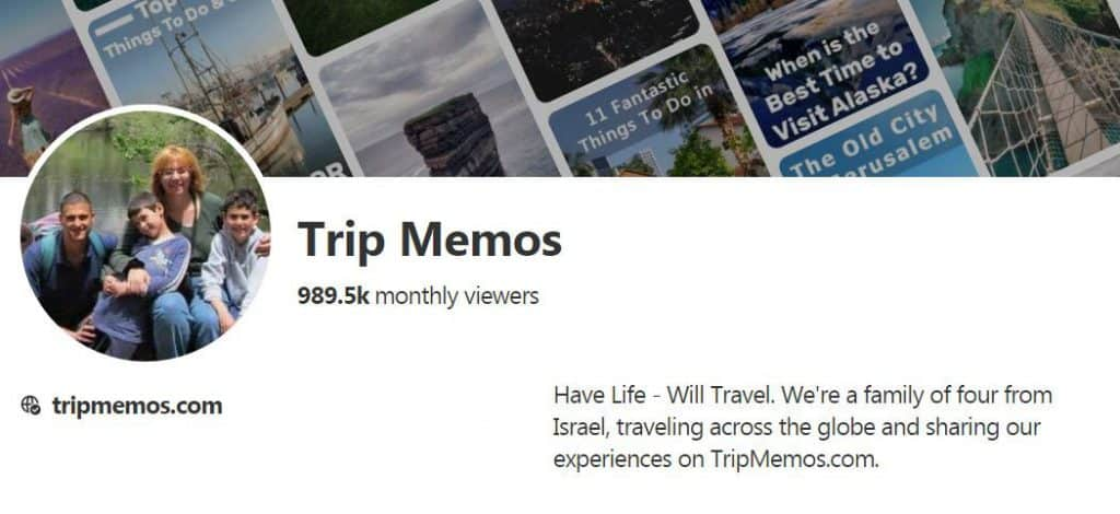 TripMemos on Pinterest