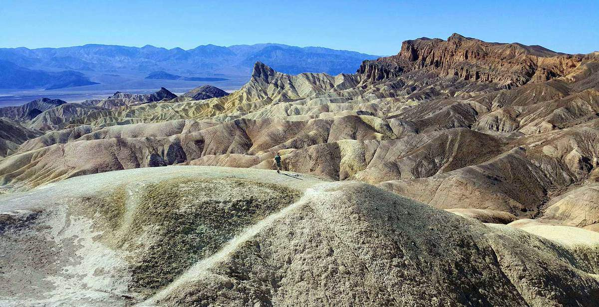 California Death Valley Zabirskie Point