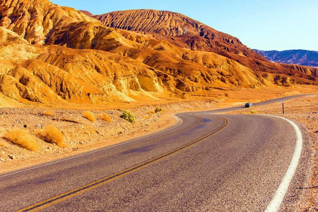 Death Valley Highway California