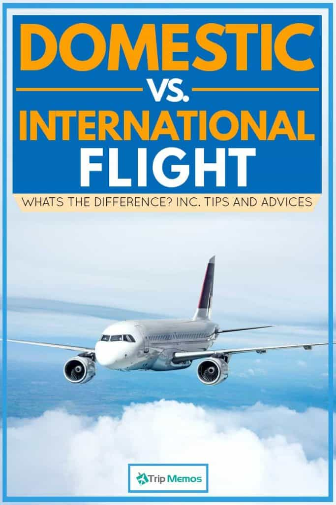 Domestic vs. International Flight: What's The Difference? [Inc. Tips and  Advice] – Trip Memos