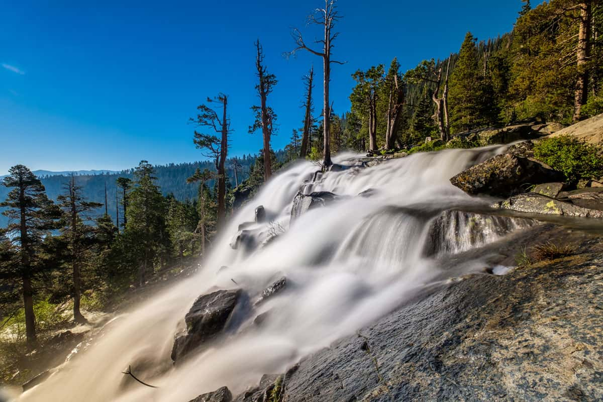 Eagle-Falls-at-Lake-Tahoe-in-California,-USA