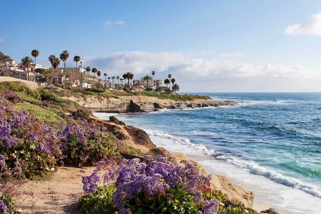 La Jolla in Southern California