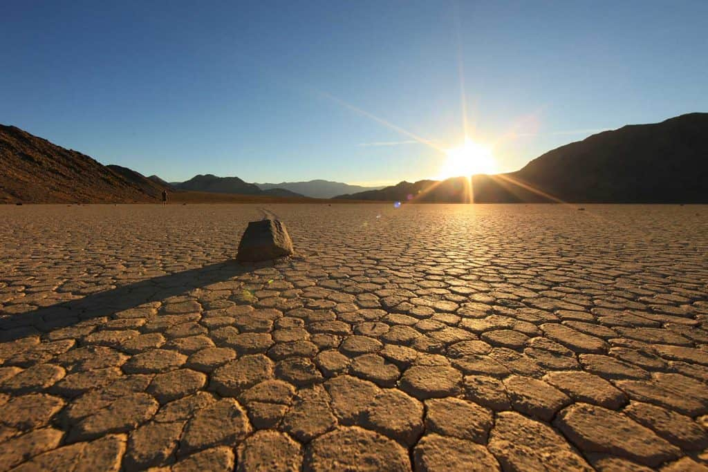 Landscape in Death Valley National Park
