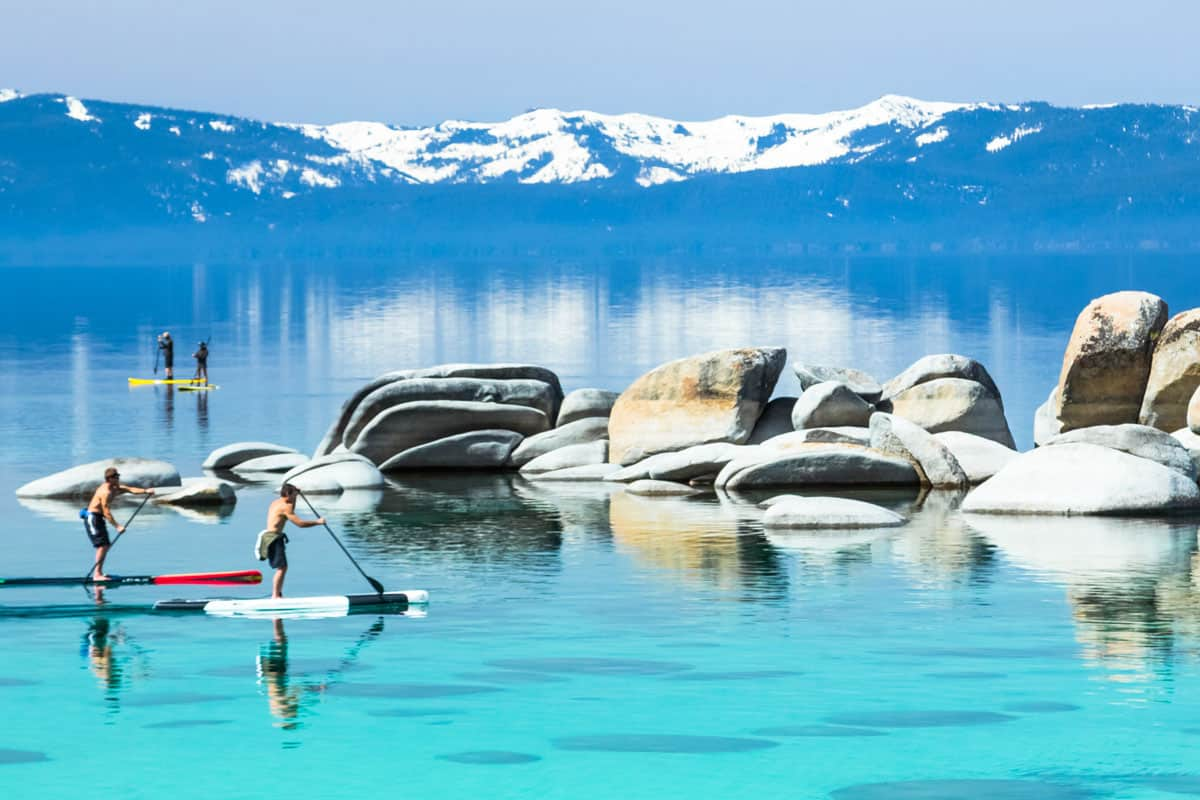 Paddle-boarding-Lake-Tahoe