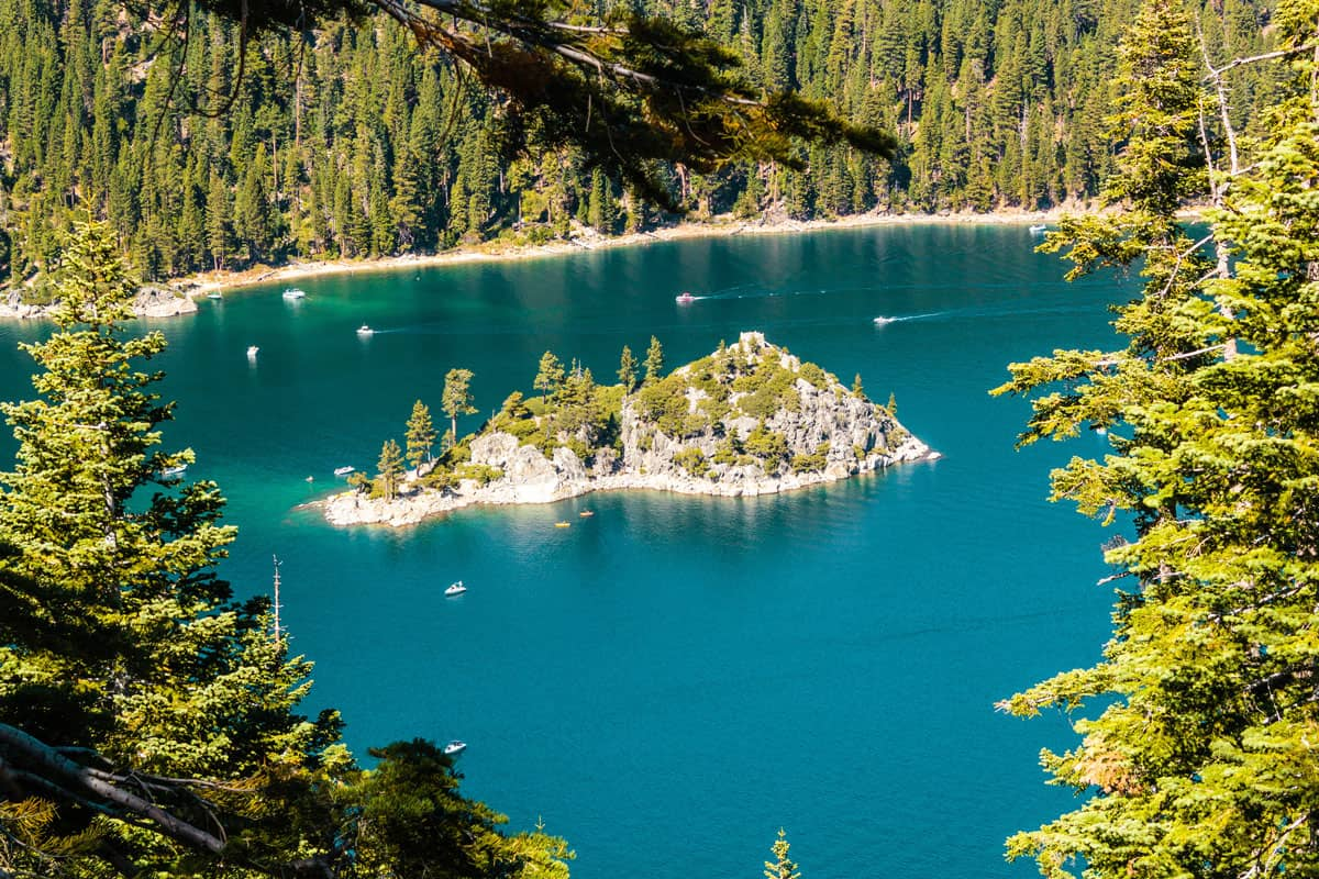 Photo-of-Haunted-Island-at-Emerald-Bay-and-Lake-Tahoe