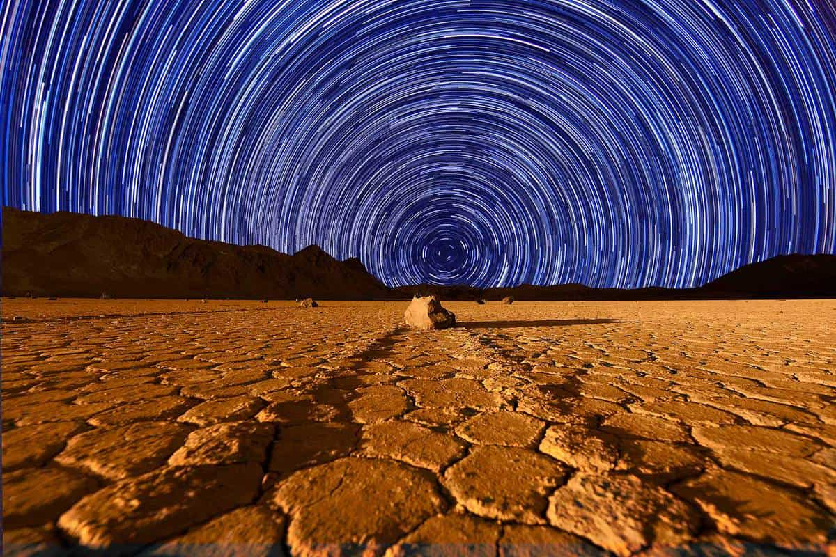 Stars above Death Valley