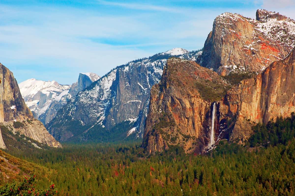 Yosemite-Valley-from-Tunnel-View,-Yosemite-National-Park,-California,-USA