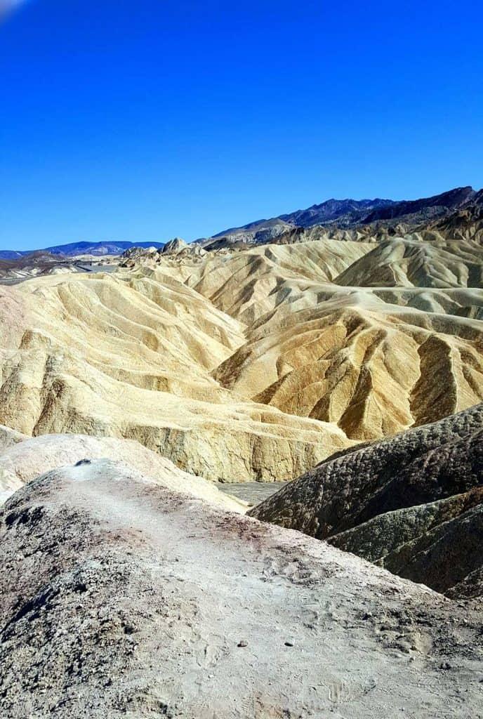 Zabirskie Point in Death Valley
