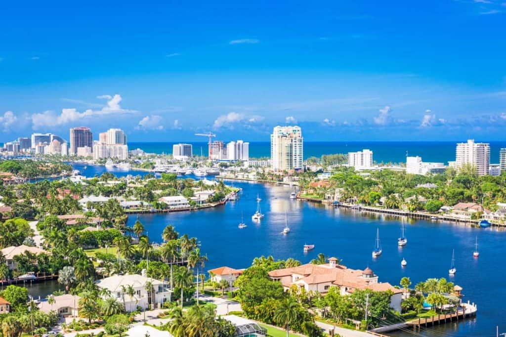 Fort Lauderdale aerial photograph