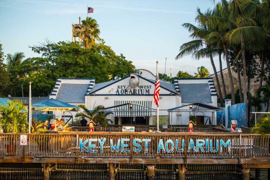 Key west aquarium building