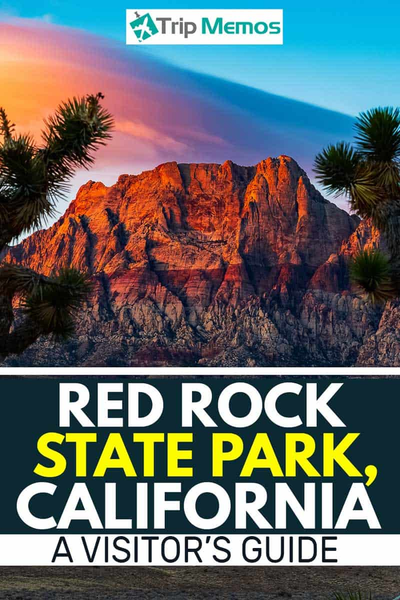 Red Rock State Park, CA - A Visitor's Guide, Red Rock Canyon sunrise with lenticular cloud.