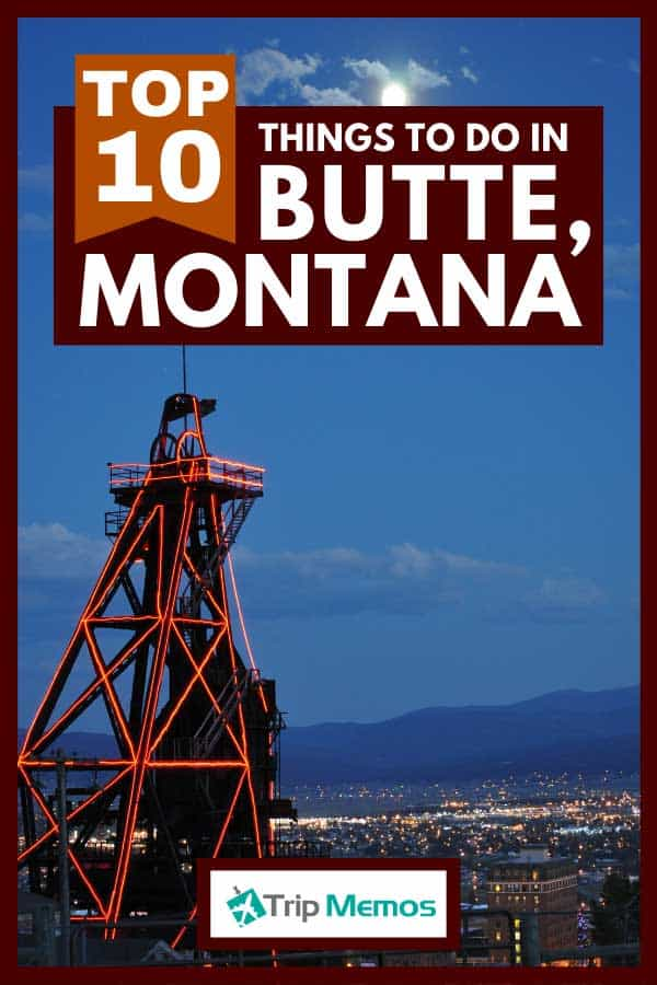 Gallows frames used for operating the lifts in underground mine shafts of Butte, Montana, Top 10 Things To Do In Butte, Montana