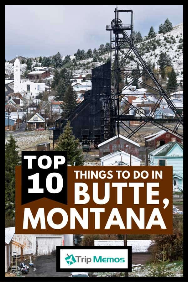Mine headframe in copper mining town of Butte, Montana, Top 10 Things To Do In Butte, Montana