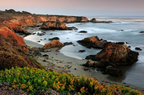 Montana de Oro State Park during sunset on California's Central Coast, ?aid=1159501