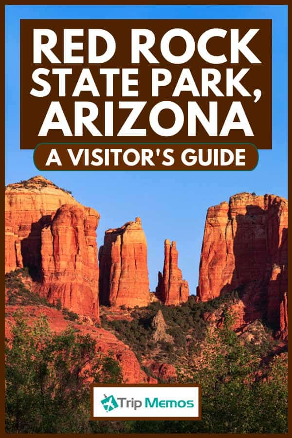Red Rock landmark in Sedona, Arizona at sunset, Red Rock State Park, Arizona - A Visitor's Guide