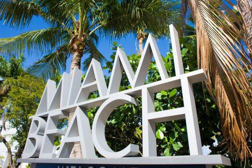 Miami Beach sign on the road into Miami Beach, Florida, Is Miami Beach Safe To Visit?