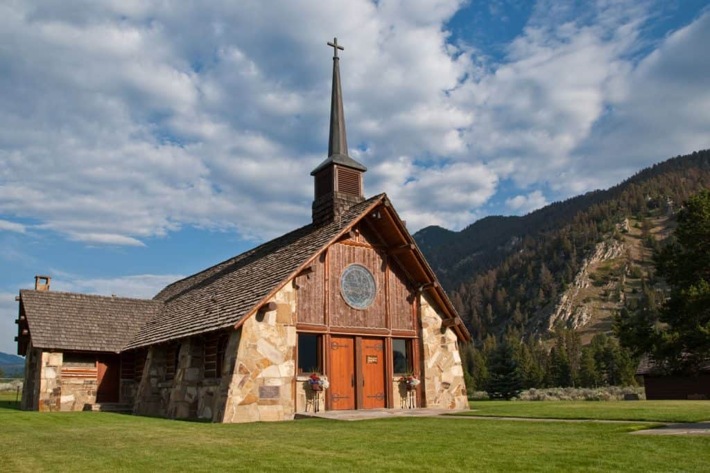 A Chapel located in Big Sky, Montana