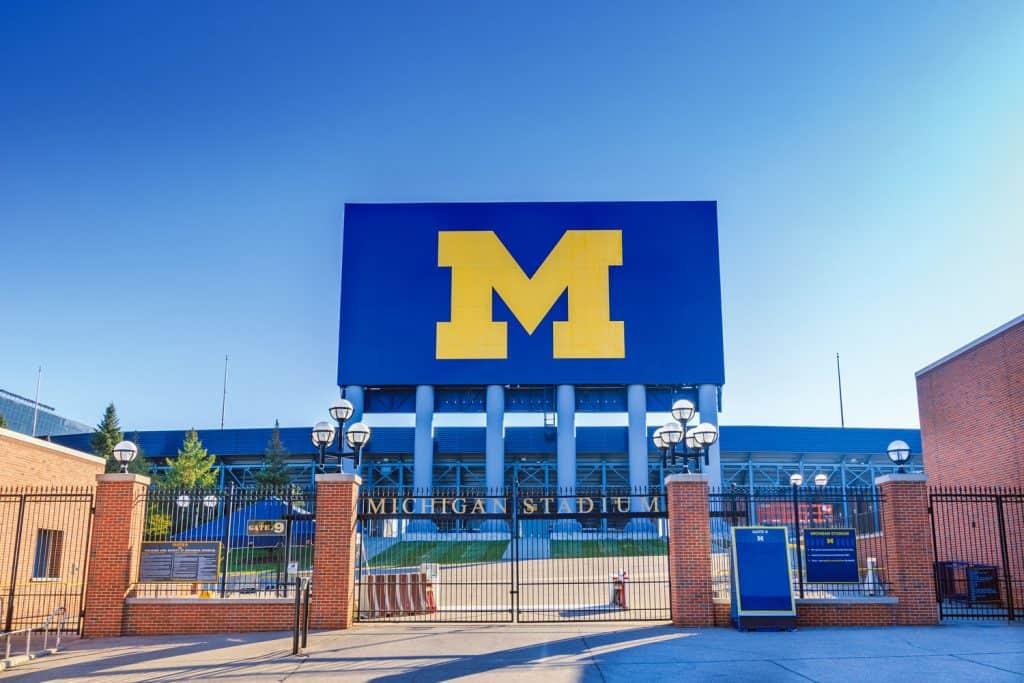 The Michigan State University gate
